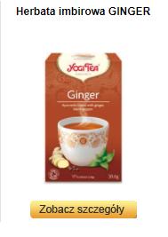 Dom Herbat - Yogi Tea - Ginger